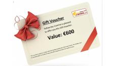 Gift Voucher value 600 euros